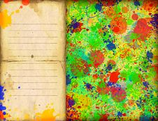 Free Colorful Watercolor Background Royalty Free Stock Photo - 20299355