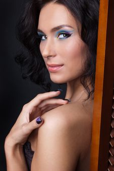 Free Professional Colourful Make-up And Manicure Royalty Free Stock Images - 20299629