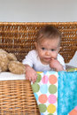 Free Baby And Teddy Stock Images - 2037314
