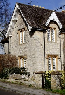 Free English Village Cottage Stock Photo - 2030330