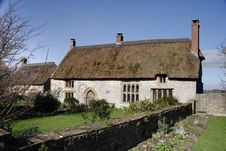 Free Thatched Medieval House Stock Photo - 2030340