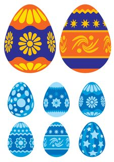 Free Easter Eggs 02 Royalty Free Stock Photography - 2030367