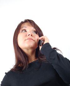 Free Phone Woman 14 Royalty Free Stock Photo - 2030375