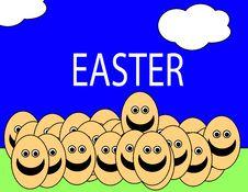 Free Easter Egg Men 12 Stock Images - 2030894
