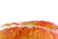 Free Water Drops On The Apple Stock Images - 2031534