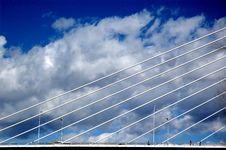 Free Bridge And Clouds Stock Image - 2031651