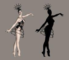 Free Ballerina Royalty Free Stock Image - 2031706