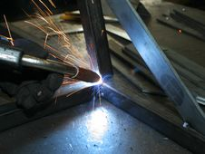 Free Welder At Work2 Royalty Free Stock Images - 2032449