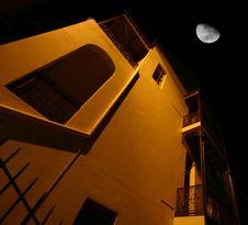 Free Moonlit House Stock Photo - 2033410