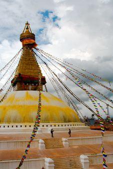 Free Kathesimbhu Stupa In Kathmandu Stock Image - 2033891