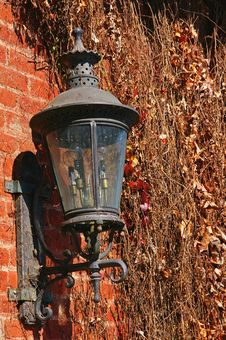 Old Rusty Lantern Royalty Free Stock Images