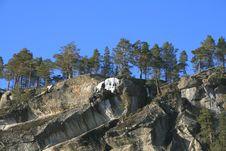 Free Steep Cliffs Royalty Free Stock Photo - 2035935