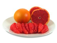 Free Red Grapefruits. Stock Photos - 2036093