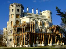 Chateau Royalty Free Stock Images