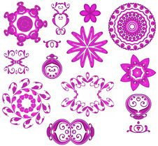 Free Decorative Pink Web Icons Royalty Free Stock Images - 2036709