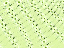 Free Crosses Arrows Pattern Green Stock Image - 2036711
