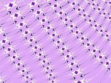 Crosses Arrows Pattern Purple Royalty Free Stock Photo