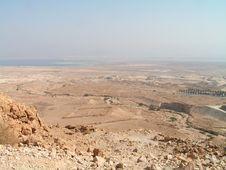 Free Masada Park And Roman Ruins Stock Images - 2038084