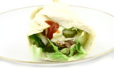 Tasty Wrap Stock Images