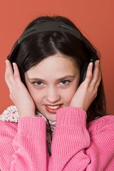 Free Girl Listening Music Stock Photography - 2038472
