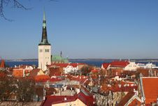 Old City Of Tallinn Royalty Free Stock Photography