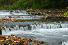 Free Autumn Waterfall In Estonia Stock Images - 2039004