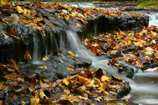 Free Autumn Waterfall In Estonia Royalty Free Stock Photography - 2039017