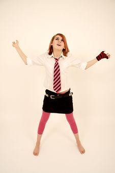 Free Pink Schoolgirl Stock Images - 2039264