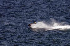 JetSki Rider Royalty Free Stock Image