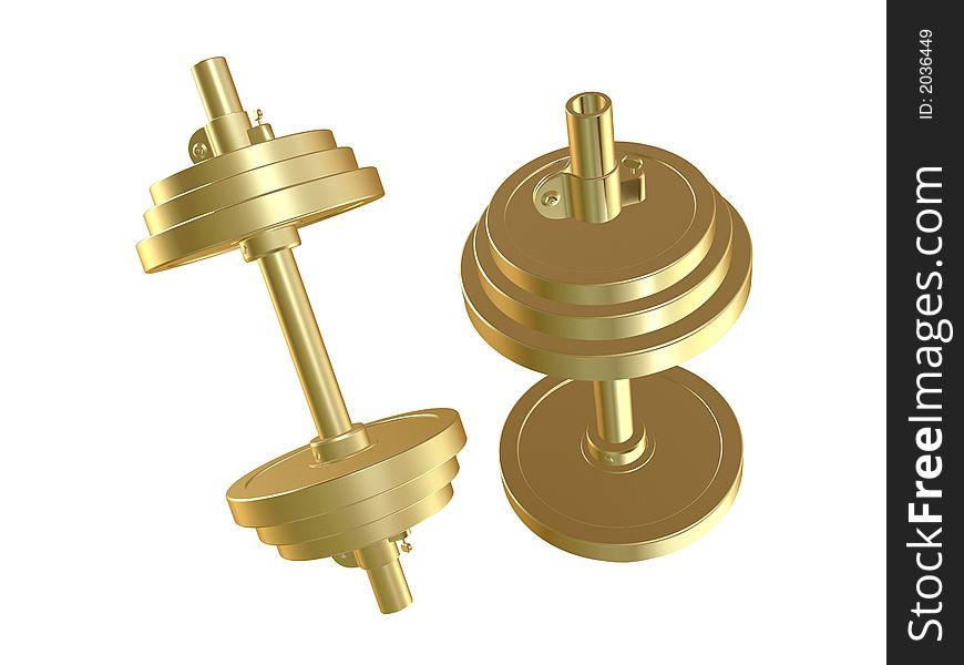 Golden barbells