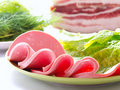 Free Sliced Sausages Stock Photo - 20300300