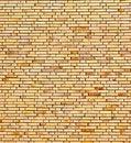 Free Beige Yellow Brick Wall Stock Photo - 20300380