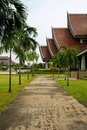 Free Walkway In Temple Royalty Free Stock Photography - 20303097