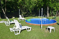 Free Pool Near Forest Stock Photos - 20306073