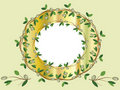 Free Golden Frame With Olive  Branches Royalty Free Stock Photo - 20306795