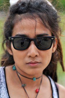 Free Asia Regge Woman Face Thailand Stock Image - 20300281