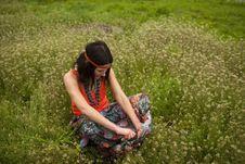 Free Hippy Girl Stock Photos - 20300283