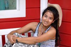 Free Regge Thailand Asia Woman Cowboy Stock Photography - 20300322