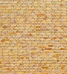 Free Beige Yellow Brick Wall Stock Photo - 20300380