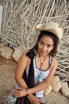 Free Regge Woman Cowboy Asia Thailand Royalty Free Stock Photo - 20300425