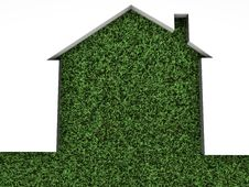 Free House On Green Grass Royalty Free Stock Photo - 20300535