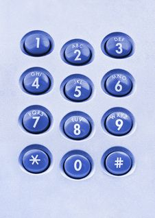 Free Telephone Keypad Stock Photos - 20300643