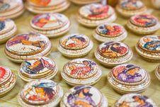Ceramics Souvenir Shop Royalty Free Stock Photo