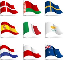Free Flags. Stock Image - 20300971