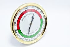 Free Isolated Thermometer Hygrometer Stock Photography - 20301112