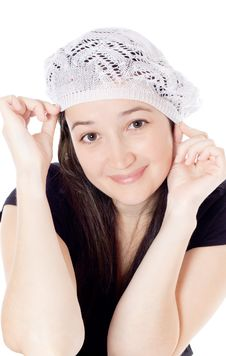 Free Girl In The Hat Royalty Free Stock Image - 20302686