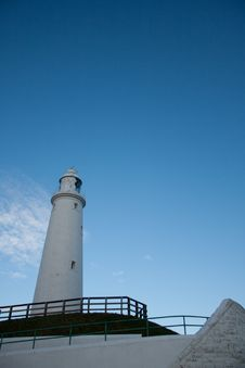 Free St Mary S Lighthouse, Whitley Bay, England Stock Photography - 20302862