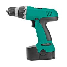 Free Green Cordless Drill. Royalty Free Stock Image - 20303106