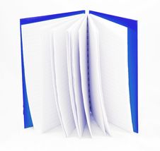 Free Blue Notebook Stock Photos - 20303163