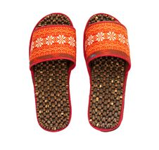 Free Handmade Slippers Stock Image - 20303491